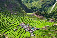 Batad Rice Terraces (13thFOOL) Tags: mountain field trek fun asia village rice paddy philippines terraces hike falls stairway more manila banaue batad pinoy ifugao pilipinas luzon paddies hagdan palayan ohayami