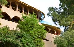 Marin County Civic Center, Frank Lloyd Wright (Lee Sutton) Tags: california county frank hall justice san marin center lloyd civic wright rafael 1960