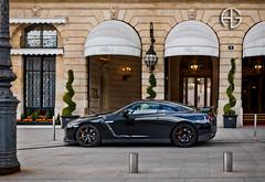 GT-R (A.G. Photographe) Tags: paris france french nikon raw nissan f14 g ag ritz fx 85 hdr parisian supercars gtr anto d800 parisienne xiii brenizer parisien vendôme hdr1raw antoxiii 85mm14g agphotographe