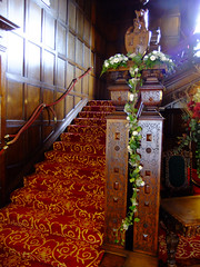 Staircase Garland (Vicky Spence) Tags: