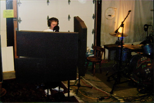 "Recording ""Just Can't Wait"" at Twanger Studios"