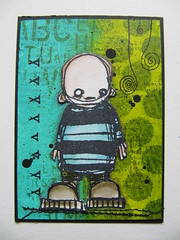 ATC: XXX TRADED (assicrafts) Tags: atc stampotique