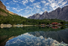 HEAVEN ON EARTH (PHOTOROTA) Tags: pakistan mountain lake reflection colors landscape nikon flickr abid photorota