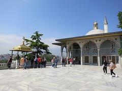 Baghdad Kiosk at Topkapi Palace, Istanbul (John S Y Lee) Tags: turkey istanbul palace baghdad kiosk topkapi