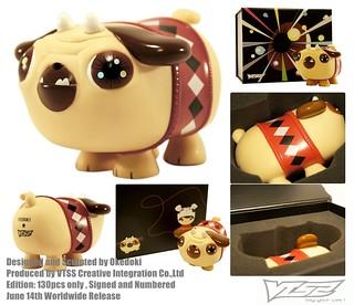 設計師Okedoki的puck巴哥小狗