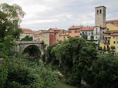 Devil's Bridge, Cividale, Italy (Paul McClure DC) Tags: italy architecture scenery italia historic friuli cividale friuliveneziagiulia cividaledelfriuli natisoneriver june2012