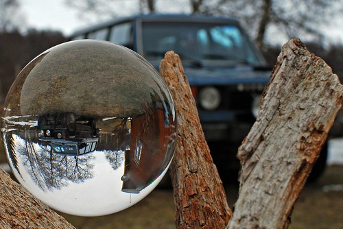 Crystal ball pajero