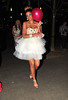 Layla Flaherty, arriving at Playground Nightclub for Danielle Lloyd's hen night. Liverpool, England