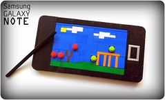 Angry Birds on LEGO Samsung Galaxy Note (Joris Blok) Tags: make birds lego no samsung an note smartphone galaxy will angry stylus android app iphone i