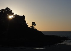ombres bretonnes (doubichlou) Tags: world sunset shadow france landscape soleil brittany coucher bretagne ombre breizh armor what coastline perros paysages cotes ailleurs littoral trestrignel guirec