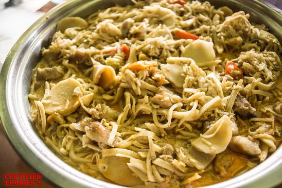 Ginataang Labong from Malabon