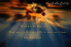 Epístola I de San Pedro 1,3-9. Obra Padre Cotallo
