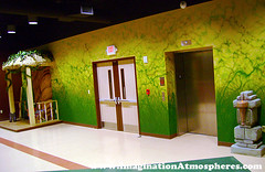 Rainforest mural (ImaginationAtmospheres) Tags: handpaintedmural custommural rainforestmural junglemural