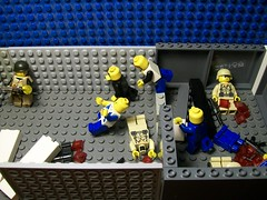 Zombie shelter (The wanderer of apocalypse) Tags: lego zombie apocalypse survivors brickarms