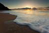 Kalalau Beach Sunset 2 (Buck Forester) Tags: ocean sunset beach clouds hawaii kauai hawaiiansunset kalalau napali napalicoast godrays kauaisunset hawaiibeach kalalaubeach hawaiianbeach kalalautrail kauaibeach kauaitravel hawaiitravel hawaiiantravel hawaiiantourism kauaitourism kalalausunset