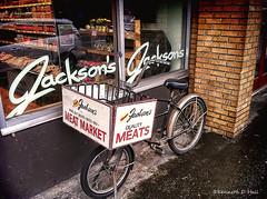 Jackson's Meats, Kitsalano (Pocoken) Tags: westside vancouverbc 4thave iphonephoto topazsoftware