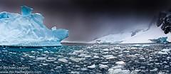 antarctica (Michael Leggero) Tags: ocean blue winter sea sky sculpture cloud snow storm texture ice nature water landscape scenic antarctica southern thunderstorm iceburg coldtemperature