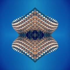 Metrpol Parasol, x4 (p.bjork) Tags: blue reflection mirror sevilla spain floating seville parasol float metropol woodenstructure metropolparasol mayerhermann jrgenmayerhermann