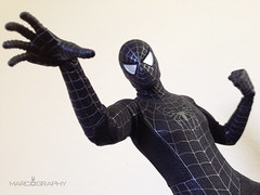 Spider-Man (Black Suit Version), Hot Toys (makingmymarc) Tags: spiderman spidey 16th hottoys 16scale blacksuitversion