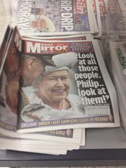 Look at them (tezzer57) Tags: uk england london jubilee south newspapers diamond balham londonist ldn diamondjubillee