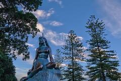 Pania of the Reef, Napier, New Zealand (ajecaldwell11) Tags: newzealand statue bronze bay zealand napier hdr hawkesbay hawkes pania