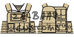 Modern US Marine LEGO Decals (zalbaar) Tags: trooper soldier army us war call gun lego duty rifle american bullet decal battlefield sas grenade decals m4 m16 bf3 mw2 mw3 brickarms zalbaar