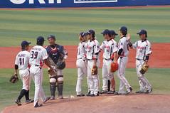 DSC04389 (shi.k) Tags: 横浜スタジアム 東京ヤクルトスワローズ 120608 マウンド イースタンリーグ