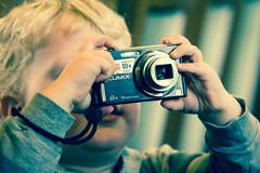 Budding photographer (Pe) Tags: boy happy eos 50mm photographer young f18 kramer ef50mmf18ii pepijn 550d