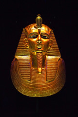 Psusennes funerary mask (Vorona Photography) Tags: seattle travel usa history beautiful beauty museum america gold golden photo washington nice ancient king state pacific image united famous picture center exhibit science historic photograph egyptian pharaoh leader states 2012 tutankhamun