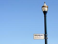 Herb Caen Way (Picardo2009) Tags: sanfrancisco california usa luz bay poste streetlamp bahia lampara
