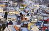 Colourful Harstad (Explore #124 7/4/14) (GillWilson) Tags: norway hurtigruten harstad