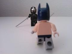 Fighting the league of shadows defend thyself (okoe74) Tags: comics dc shadows lego ninja batman league