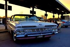 Chevrolet Impala 1959. (Papa Razzi1) Tags: classic chevrolet americana impala 1959 2016 7123 128365 thebarkarbycarmeet2016