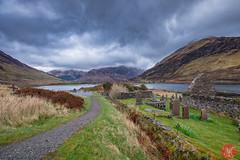 On the way to Skye 5 (Kasia Sokulska (KasiaBasic)) Tags: lake mountains cemetery landscape scotland spring highlands