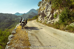 The large street (Alex - Born To Be Free) Tags: street travel panorama landscape landscapes large panoramic panoramica moto motorcycle motor viaggio montenegro kotor panoramico panorami kotorbay motociclette landscapelake landscapemountain motorcycletravel viaggioperimmagini