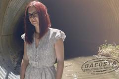 Fashion Shoot #2 ([DaCosta]) Tags: woman girl fashion model dress readhead