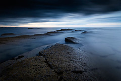 Week 21 - Cracked (f22 Digital Imaging) Tags: longexposure seascape landscape northumberland seatonsluice northeastengland bluescape 10stop collywellbay hoyaprond1000 wexmondays2016 wpoty2016