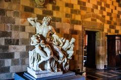 Groupe du Laocoon -Palais des Grands Matres - Rhodes (yann.dimauro) Tags: gr rodos grce egeo