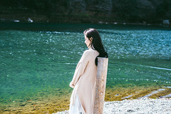 DSC_8319 (Ivan KT) Tags: light shadow portrait woman art girl river photography lotus taiwan exhibition sight conceptual backlighting