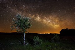 Immensity (daviddelossan) Tags: light night dark way stars nikon long exposure nightscape milky immensity 1424 d7000