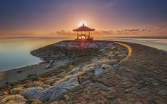 Sanur beach (melnikor) Tags: sea bali sun beach indonesia land rise scape pantai sanur leehuaming