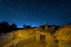 De camino al cielo (iCalamonte) Tags: longexposure espaa night stars spain nikon nightscape estrellas nocturna dolmen extremadura largaexposicin d610 samyang lcara dolmendelcara