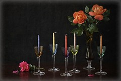 In Memoriam... (Esther Spektor - Thanks for 10+ millions views..) Tags: flowers roses stilllife reflection art glass composition canon holocaust stem colorful candle availablelight stilleben petal memory vase tribute tabletop inmemoriam bodegon naturemorte goblet naturamorta naturezamorta creativephotography estherspektor atristicphoto