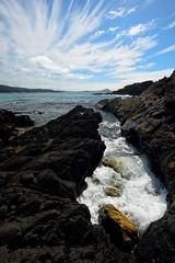 Rocky Channel (Paul Hollins) Tags: ocean seascape rocks australia newsouthwales aus sealrocks nikon1635mmf4 nikond750