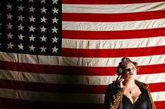 American Princess (Studio d'Xavier) Tags: portrait usa unitedstates flag american americanprincess strobist