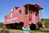 Danville, Virginia (1 of 2) (Bob McGilvray Jr.) Tags: railroad red public train virginia nw display steel tracks caboose danville va cupola static norfolkwestern nickelplateroad nkp
