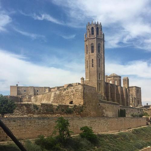 La Seu Vella de Lleida, una de les catedrals més importants d'Europa i testimoni excepcional de la història del nostre país.
