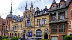 Zurenborg und die Belle Epoque in Antwerpen (Ulrike Parnow) Tags: europa antwerpen belgien flandern zurenborg belleepoque cogelsosylei transvaalstraat waterloostraat jugendstilinberchem