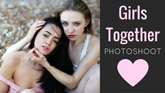Girls Together Photoshoot video (unexpectedtales) Tags: beach brighton