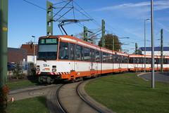 2012-10-27, Bielefeld, Sieker (Fototak) Tags: germany tram m8 bielefeld ligne2 strassenbahn mobiel 524 dwag